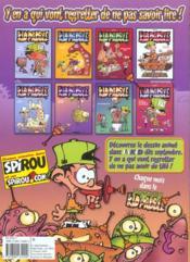 Kid Paddle - 4ème de couverture - Format classique
