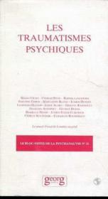 Les traumatismes psychiques - Couverture - Format classique