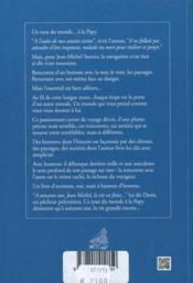 La mer des hommes ; un tour du monde... - 4ème de couverture - Format classique