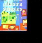 Plaisirs simples - Couverture - Format classique