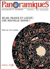 REVUE PANORAMIQUES N.1 ; Islam, France et laïcité ; une nouvelle donne ? - Couverture - Format classique