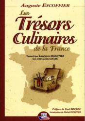 Tresors culinaires de la france - Couverture - Format classique