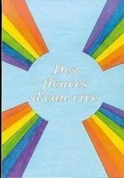 Fleuves D'Eau Vive (Des) - Couverture - Format classique