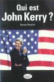 Qui Est John Kerry ? - Intérieur - Format classique