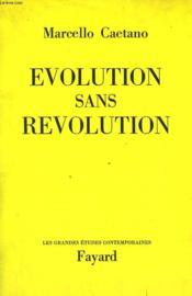 Evolution Sans Revolution. - Couverture - Format classique