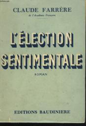 L'Election Sentimentale - Couverture - Format classique