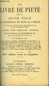 Approbations Du Le Livre De Piete De La Jeune Fille - Couverture - Format classique