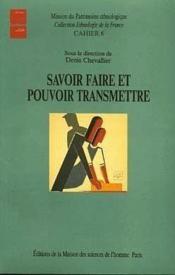 Savoir Faire Et Pouvoir - Couverture - Format classique
