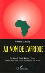 Au Nom De L'Afrique - Intérieur - Format classique