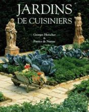 Jardins de cuisiniers - Couverture - Format classique