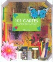 101 Cartes A Faire Soi-Meme - Couverture - Format classique