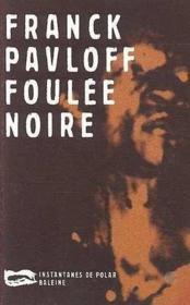 Foulee Noire - Couverture - Format classique