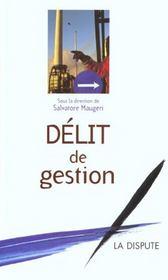 Delit De Gestion - Intérieur - Format classique