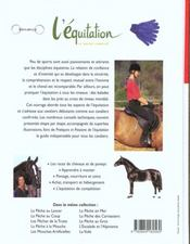 Equitation - 4ème de couverture - Format classique