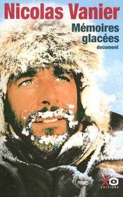Memoires Glacees - Intérieur - Format classique