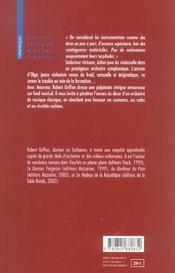 Amoroso - 4ème de couverture - Format classique