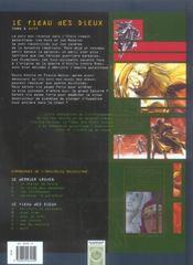 Le fléau des dieux t.6 ; exit - 4ème de couverture - Format classique