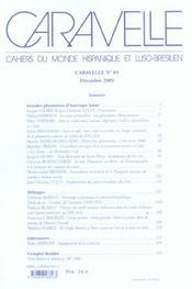 Grandes Plantations D Amerique Latine. Entre Reve Et Commerce. Revue Caravelle N85 - 4ème de couverture - Format classique