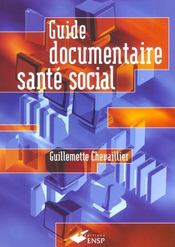 Guide Documentaire Sante Social - Intérieur - Format classique