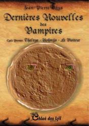 Dernières nouvelles des vampires - Couverture - Format classique
