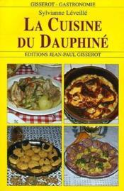 La cuisine du dauphiné - Couverture - Format classique