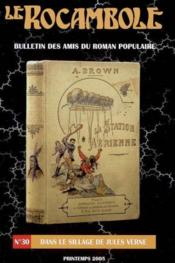Revue Rocambole N.30 ; Dans Le Sillage De Jules Verne - Couverture - Format classique