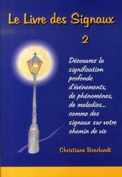 Le livre des signaux t.2 - Intérieur - Format classique