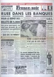 France Soir 6 Eme Edition N°1091 du 03/02/1948 - Couverture - Format classique