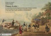 Catalogue de l expo timor leste un nouvel etat enracine - Couverture - Format classique
