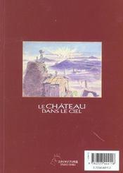 Le chateau dans le ciel - tome 01 - 4ème de couverture - Format classique