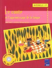 Le conte et l'apprentissage de la langue - Intérieur - Format classique