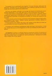 Nouvelles Idees De Patchwork Sans Aiguilles - 4ème de couverture - Format classique