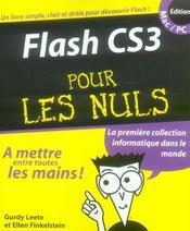 Flash CS3 pour les nuls - Intérieur - Format classique