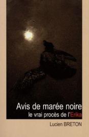 Avis de marée noire - Couverture - Format classique