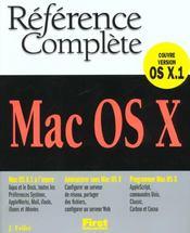 Mac Os X - Intérieur - Format classique