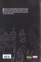 Fantastic four t.1 ; retour aux sources - 4ème de couverture - Format classique