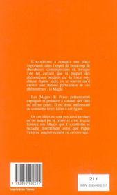 La Science Des Mages Et Ses Applications Theoriques Et Pratiques - 4ème de couverture - Format classique