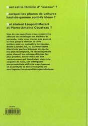 La Grande Encyclopedie Du Derisoire T.4 - 4ème de couverture - Format classique