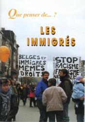 Les Immigres - Couverture - Format classique