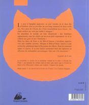 L'Ecole Des Chats 3 ; La Prophetie Se Realise - 4ème de couverture - Format classique