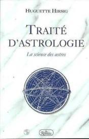 Traite d'astrologie - Couverture - Format classique