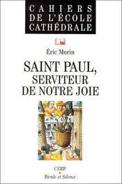 Saint Paul, serviteur de notre joie - Couverture - Format classique
