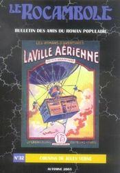 Revue Rocambole N.32 ; Cousins De Jules Verne ; La Ville Aérienne - Intérieur - Format classique