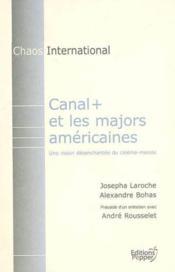 Canal+ Et Les Majors Americaines - Couverture - Format classique