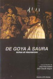 De Goya A Saura, Echos Et Resonnances - Intérieur - Format classique