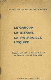 Le Garcon - La Sieaine - La Patrouille - L'Equipe - Couverture - Format classique