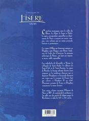 L'Histoire De L'Isere En Bd - Tome 02 - 4ème de couverture - Format classique