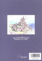 Le Chateau Dans Le Ciel - Tome 02 - 4ème de couverture - Format classique