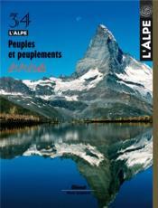 L'Alpe N.34 ; Peuples Et Peuplements - Couverture - Format classique