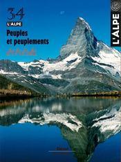 L'Alpe N.34 ; Peuples Et Peuplements - Intérieur - Format classique